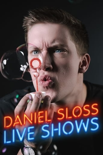 Daniel Sloss: Live Shows Poster