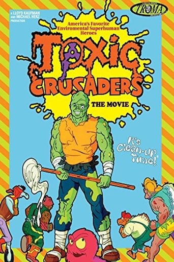 Poster of Toxic Crusaders