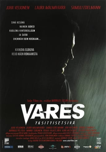 Poster of Vares: Private Eye