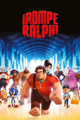Poster of ¡Rompe Ralph!