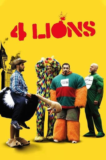 Four Lions (2010) - poster