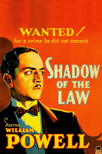 Poster of Shadow of the Law