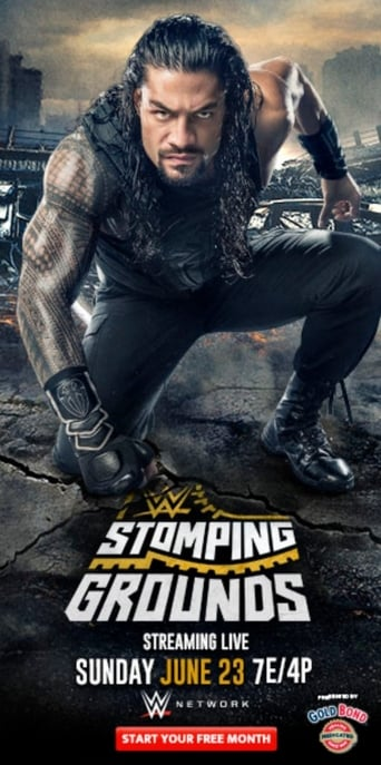 Poster of WWE Stomping Grounds