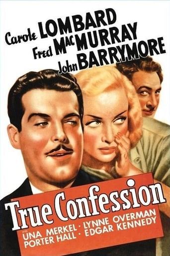 Poster of True Confession