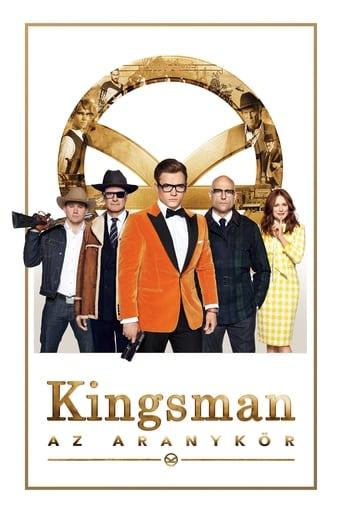 Poster of Kingsman: Az Aranykör