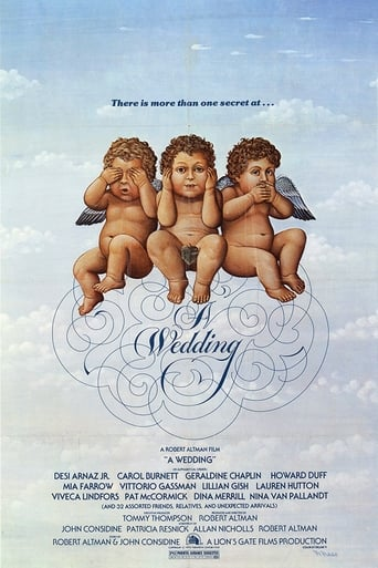 Poster of A Wedding