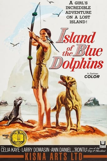 Island of the Blue Dolphins poster