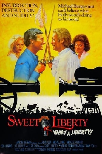 Poster of Sweet Liberty