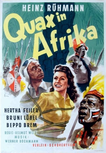 Poster of Quax in Afrika