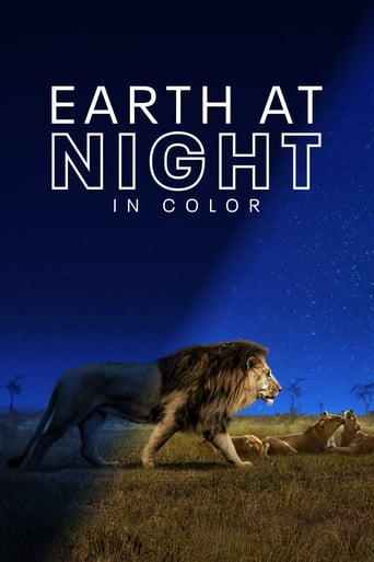 Poster Earth at Night in Color