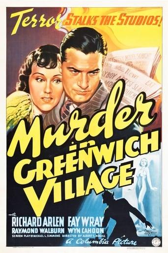 Poster of Murder in Greenwich Village