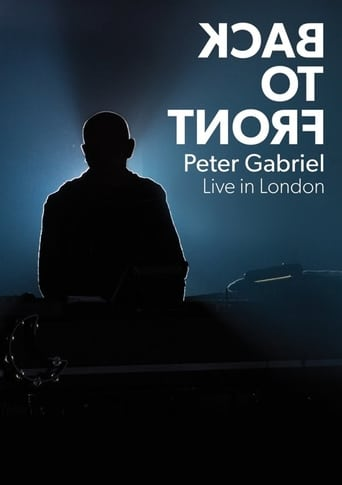 Watch Peter Gabriel: Back To Front full movie online 1337x