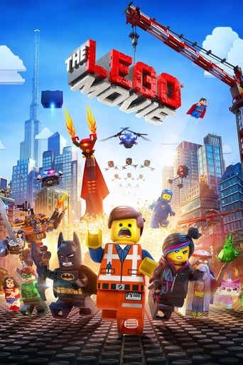 Poster of The Lego Movie