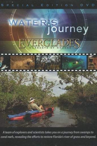 Water's Journey - Everglades: Currents of Change Movie Poster