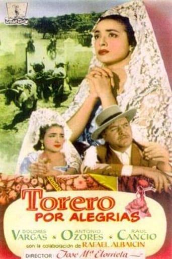 Poster of Torero por alegrías
