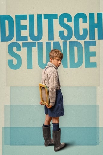 The German Lesson Poster