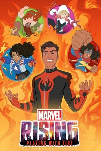 Poster of Marvel Rising: Playing with Fire