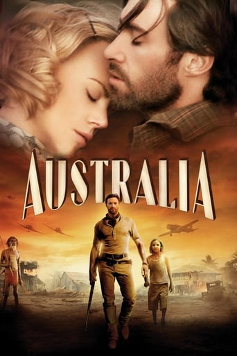Official movie poster for Australia (2008)