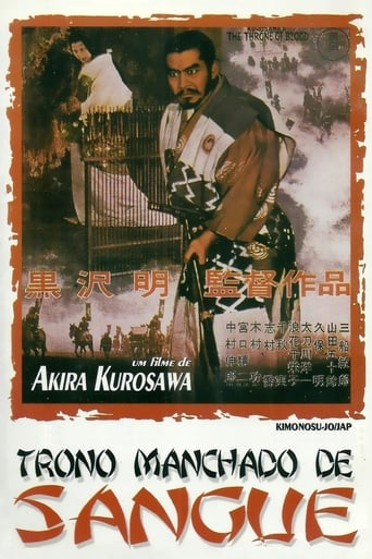 Trono Manchado de Sangue - Poster