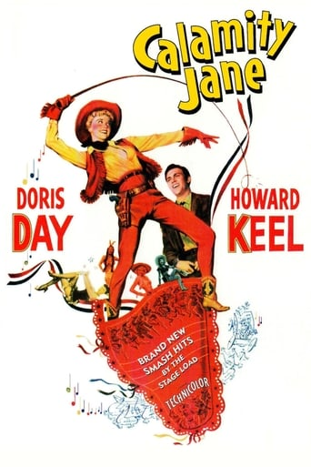 Calamity Jane (1953) - poster