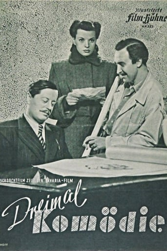 Poster of Comedy Times Three