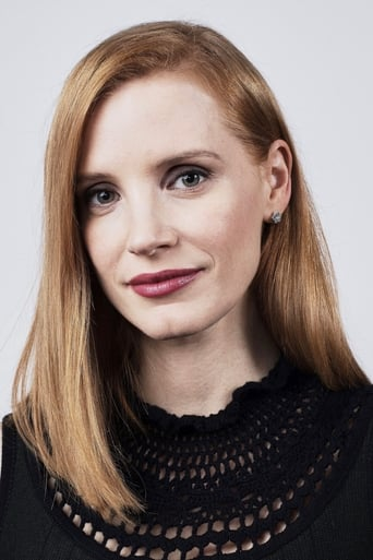 Jessica Chastain alias Lady Lucille Sharpe