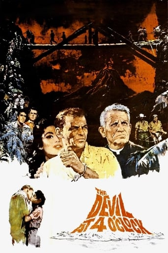 Poster of The Devil at 4 O'Clock
