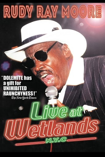 Poster of Rudy Ray Moore: Live at Wetlands: N.Y.C.