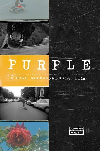 Converse CONS - Purple Movie Poster