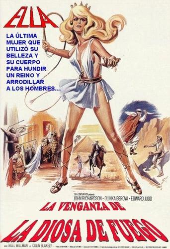 Poster of La venganza de la diosa de fuego