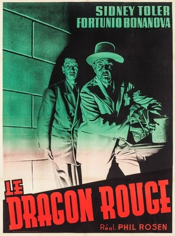 Poster of Charlie Chan in The Red Dragon