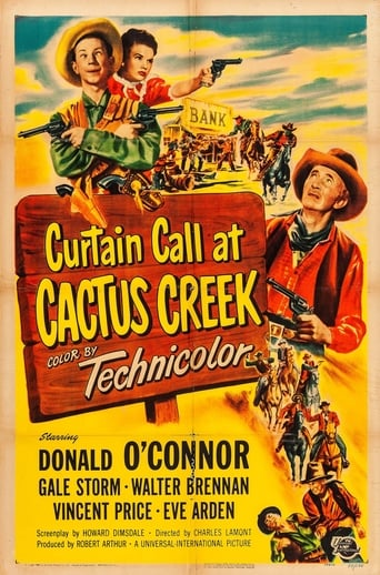 Poster of Curtain Call at Cactus Creek