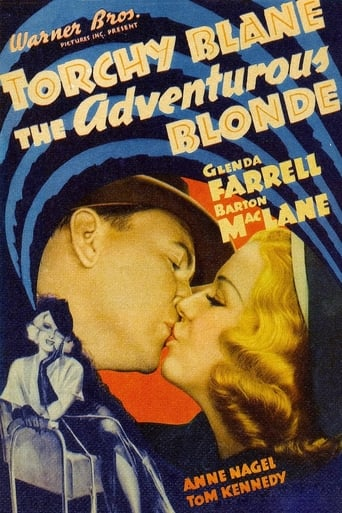Poster of The Adventurous Blonde