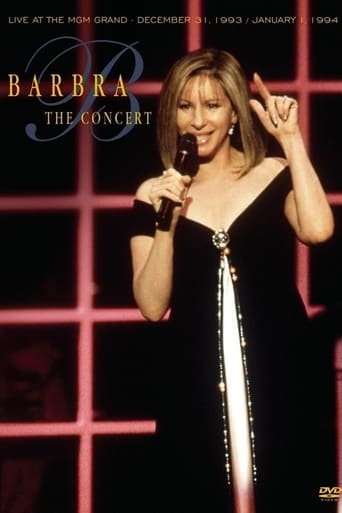 Poster of Barbra Streisand: The Concert