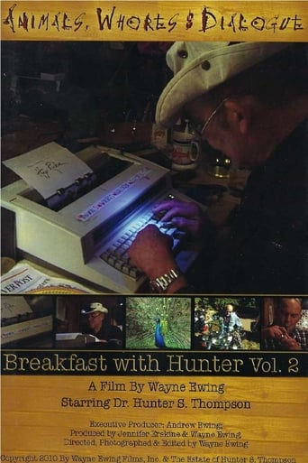 Poster of Animals, Whores & Dialogue: Breakfast with Hunter Vol. 2