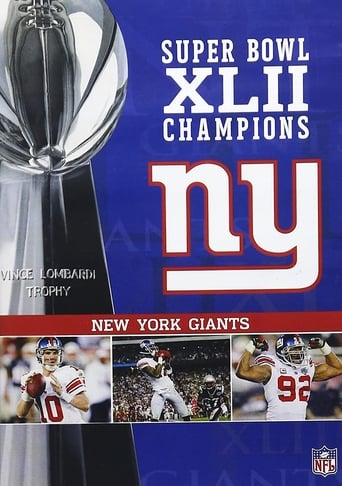 Poster of Super Bowl XLII Champions - New York Giants