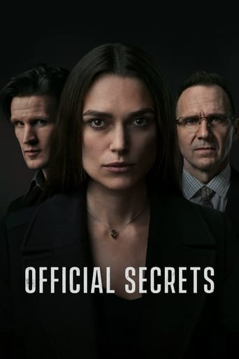 Film Official Secrets streaming VF gratuit complet