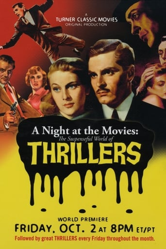 Poster of A Night at the Movies: The Suspenseful World of Thrillers