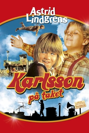 Poster of Karlsson on the Roof