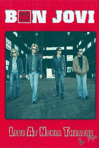 Poster of Bon Jovi - Live at Nokia Theatre