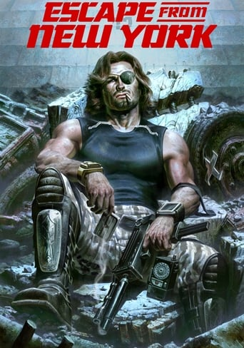 Official movie poster for Escape from New York (1981)