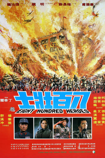 Eight Hundred Heroes movie poster