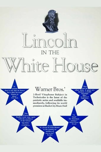 Poster of Lincoln in the White House