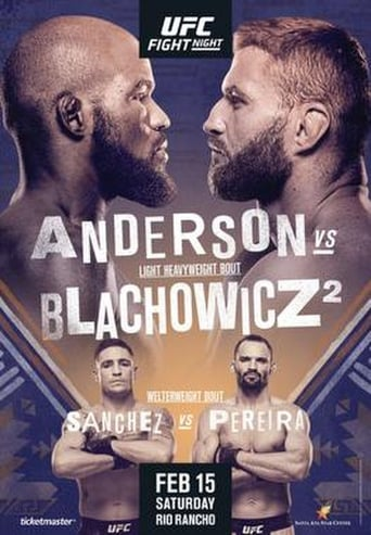 Poster of UFC Fight Night 167: Anderson vs. Błachowicz 2