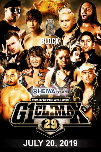 NJPW G1 Climax 29: Day 7 Movie Poster