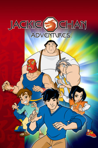 Poster of Jackie Chan Adventures