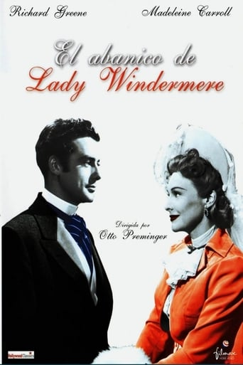 Poster of El abanico de Lady Windermere