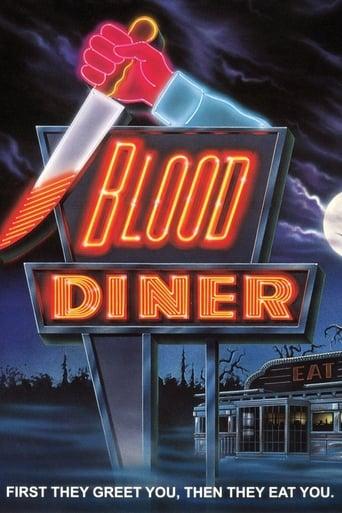 Blood Diner (1987) - poster