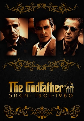 The Godfather Saga Poster