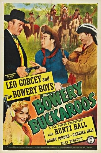 Poster of Bowery Buckaroos